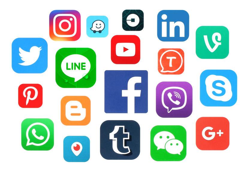 Réseaux sociaux logo